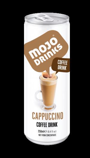 Cappuccino Coffee Drink 250ml Alu Can